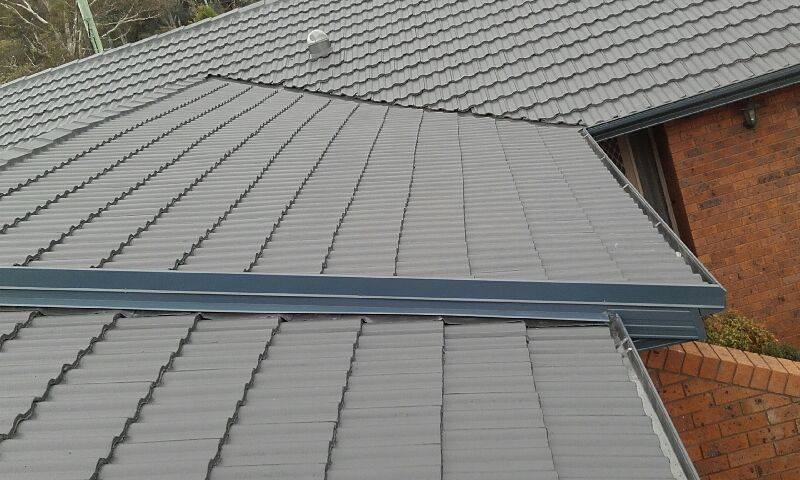 Fascia, Gutter, Downpipes & Gable flashing & Full Roof Restoration